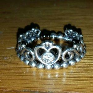 Size 5.5 Pandora Princess Ring